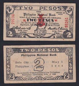 Filippine / Philippine - 2 pesos 1944 BB/VF  B-04