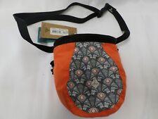Prana Unisex Large Climbing Chalk Bag w/ Adjustable Belt Moonrock Botanica Nwt