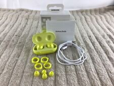 New listing Samsung Galaxy Buds Wireless In-Ear Headset - Yellow (Sm-R170) — Used