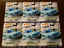 Hot Wheels 2018 Car Culture Cargo Carriers Nissan C10 Skyline Wagon (Lot of 6)