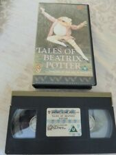 Tales of Beatrix Potter by the Royal Ballet VHS Video tape.