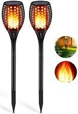New listing Aityvert Solar Lights Outdoor, Waterproof Flickering Flame Solar Torch Lights