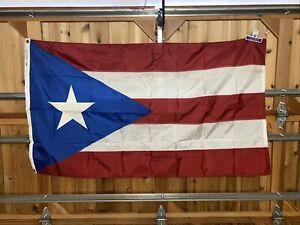 Puerto Rico Olympics Country Flag 3x5' Nyl-Glo ANNIN Nylon World Cup Soccer
