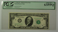 1969B $10 Bill *STAR* Federal Reserve Note FRN PCGS 63PPQ Fr. 2020-E (C)