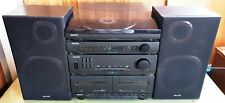 PHILIPS AS305/30 Stereo Sound System - Dual Cassette / Record Player / AM FM