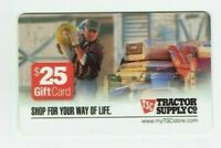 Tractor Supply Co Gift Card - Older Style - TSC - No Value - I Combine Shipping