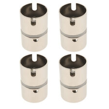 4 Pieces Drop-in Swivel Rod Holder Fishing Pole Converter Adapter