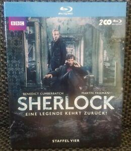 Sherlock * Staffel 4 im Schuber * Discs neuwertig!*