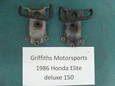 86 1986 85 HONDA ELITE CH 150 125? scooter moped deluxe rear passenger handles 2