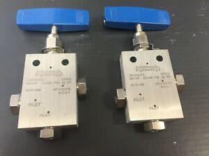 Parker Autoclave Engineers Medium Pressure Needle Valve - 20SM9073