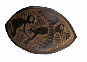 Large Abbia Token Game Cameroon Chasse Bird Zoomorphic Beti Art African 17026
