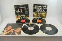 Simon & Garfunkel Lot of 3 Records Vinyl LP Wednesday Parsley Central Park EX!