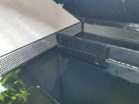 Filter screen aquarium.BLACK. Compatible with Fluval Flex. shrimp safe. 2 Off.