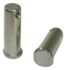 """Stainless Steel Clevis Pin 7/16"""" x 1-3/8"""" PAIR Vintage Merriman Bros. 101-1245"""