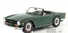 Minichamps 155132030 - Triumph Tr6 Roadster Verde Oscuro 1969 - 1:18