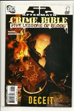DC UNIVERSE 52 CRIME BIBLE 1!