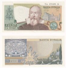 ITALY 2000 Lire Banknote (1976) Pick ref: 103b - UNC