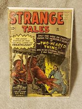 1962 Marvel - Strange Tales #95 - Horror - Pre-Hero - The Two Headed Thing
