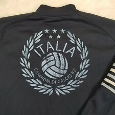 RARE VTG Italia Campioni Di Calcio 82' Blue Jacket Five Star Blue Marlin Soccer