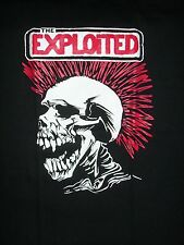 NEW OLD SCHOOL PUNK THE EXPLOITED LOGO SHIRT FREE SAME DAY SHIPPING LARGE