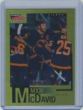 2020-21 UD Extended Series Connor McDavid Ultimate Victory Gold #1/25 SSP CM-2