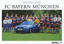 FC Bayern München  Mannschaftskarte 1997/98  nicht signiert 357653