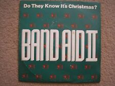 """BAND AID II - Do they know it's Christmas - 7"""" Vinyl Single"""