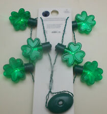 Light Up Shamrock Necklace St Patrick's Day New With Tags