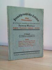 Mertner Fremdsprachliche Lektüre ohne Wörterbücher mit Laut- und Begriffsschlüss
