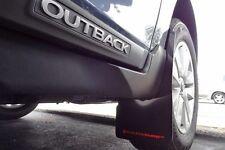 Rally Armor 05-09 Legacy GT /& Outback UR Black Mud Flaps Kit w// GREY Logo
