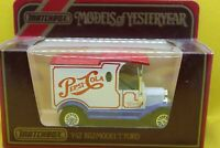 MATCHBOX Models of Yesteryear. Y-12 1912 Model T Ford Pepsi Cola  Mint
