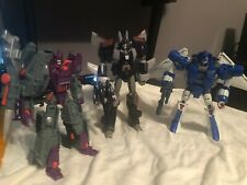Transformers Universe 2.0 Decepticons Galvatron, Cyclonus and Scourge Lot 100%