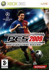 Pro Evolution Soccer 2009 (Xbox 360) - Free Postage - UK Seller NP