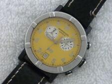 38MM RAYMOND WEIL CHRONOGRAPH Parsifal W1 8000 Steel Date Quartz Swiss watch