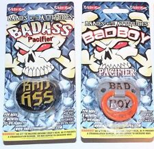 2 PACK- Billy Bob Pacifiers, Bad Ass, Bad Boy, Get BOTH Authentic