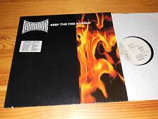 DOMINOE - KEEP THE FIRE BURNIN' (5:46) / GERMANY 12'' MAXI-LP 1990