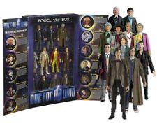 DOCTOR WHO 11 Figure Collectors Set tardis box dr NEW