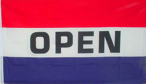 NEW 3X5FT OPEN FLAG BANNER STORE SIGN superior quality fade resistant