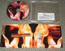 Rolling Stones JAPAN press PROMO ONLY CD Sympathy remixes OFFICIAL info sticker