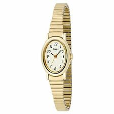 Timex T21872, Women's Gold Tone Cavatina Expansion Watch