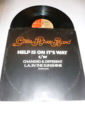 """LITTLE RIVER BAND - Help Is On It's Way - 1977 UK 3-track 12"""" vinyl single"""