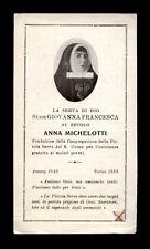 santino  RELIQUIA RELIC -B.ANNA MICHELOTTI