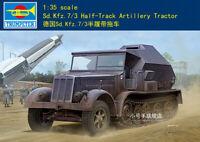 Trumpeter 09537 1/35 SdKfz.7/3 Half-Track Artillery Tractor model kit▲