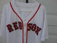 Authentic Majestic Fully Stitched Boston Red Sox Jersey #20 Size 52