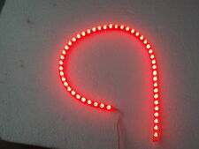 LED STRIP LIGHT BLUE or RED or WHITE  LED CAR BACK LIGHT 48CM or 24CM 12V