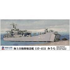 Pit-Road Skywave J-83 JMSDF Tank Landing Ship LST-4151 Miura 1/700 scale kit.