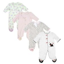 Sleeper Pajamas for Baby Girls One Piece Footed Little Me
