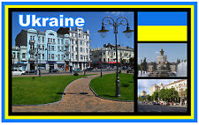 UKRAINE - SOUVENIR NOVELTY FRIDGE MAGNET - BRAND NEW - GIFT / XMAS