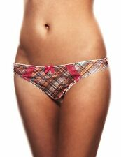Panache Cleo Sadie Thong UK 8 Orange Multi Eur 34, USA XS, Aus 8, Fr 36 New