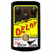 Hot Box Pedals HB-AD DELAY Analog Delay 600ms Guitar Effect Pedal True Bypass